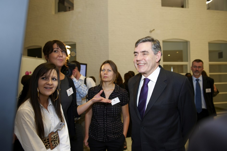 Savvy Chavvy chat with Gordon Brown